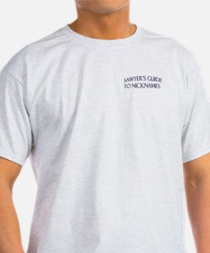 Sawyer's Guide to Nicknames T-Shirt