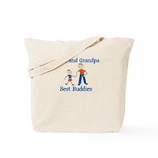 Aiden & Grandpa - Best Buddie Tote Bag