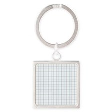 Graph Lined Paper Texture Keychains