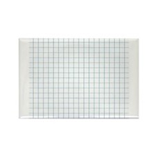 Graph Lined Paper Texture Magnets