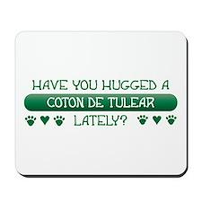 Hugged Coton Mousepad