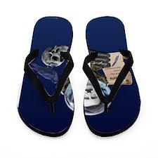 SPIRIT OF EDGAR ALLAN POE Flip Flops