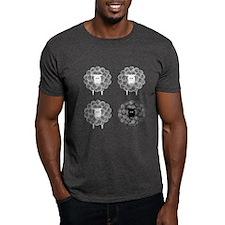 Black Faced Yarn Sheep T-Shirt
