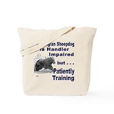 Belgian Sheepdog Agility Tote Bag