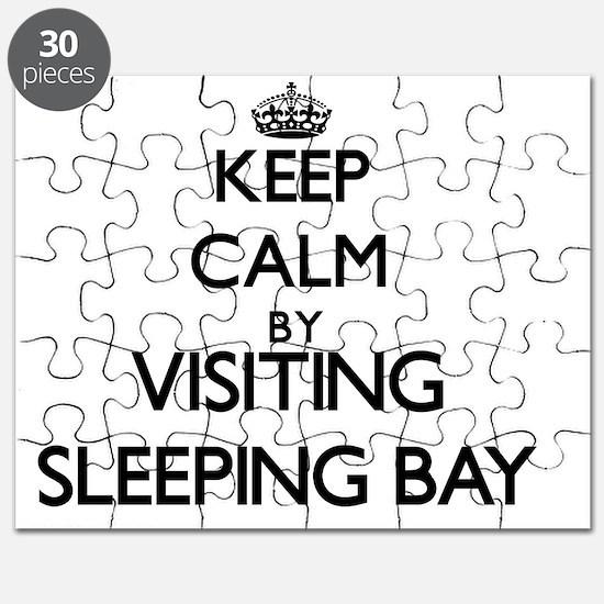 Unique Keep calm sleep Puzzle