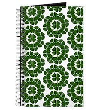Four Leaf Clover wide Journal