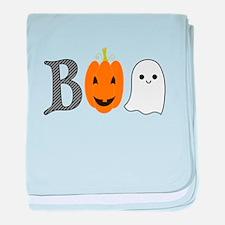 Halloween baby blanket