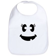 Cute Ghost face Bib