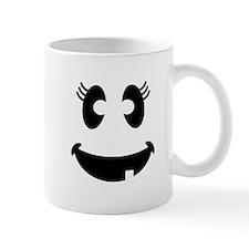 Ghost Face Girl Mugs