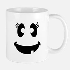 Ghost Face Girl Mugs