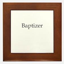 Baptizer Framed Tile