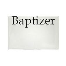 Baptizer Rectangle Magnet (10 pack)