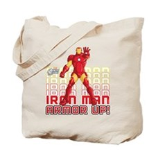 Iron Man Armor Up Tote Bag