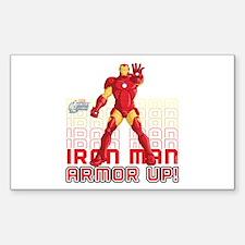 Iron Man Armor Up Decal