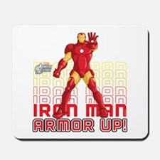 Iron Man Armor Up Mousepad