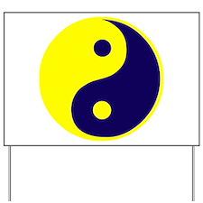 Funny Yin yang Yard Sign