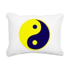 Funny Yin Rectangular Canvas Pillow