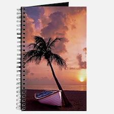 Unique Red cloudy sunrise Journal
