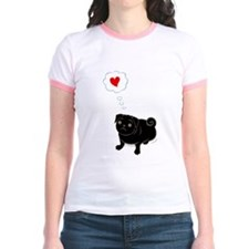Unique Pug valentine T
