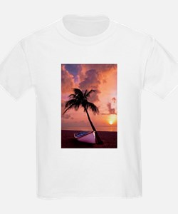 Sunset with Boot T-Shirt