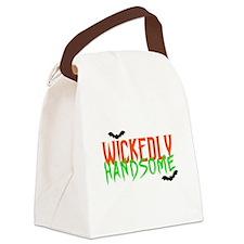 Unique Happy halloween Canvas Lunch Bag
