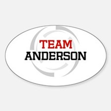 Anderson Oval Decal