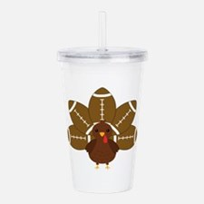 Funny Thanksgiving Acrylic Double-wall Tumbler
