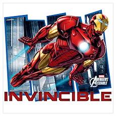 Iron Man Invincible Wall Art Poster