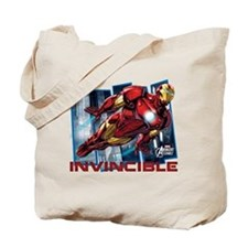 Iron Man Invincible Tote Bag