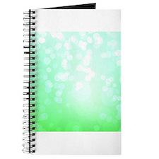 Green Bokeh Abstract Texture Journal
