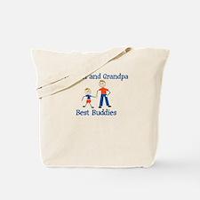 Damien & Grandpa - Best Buddi Tote Bag