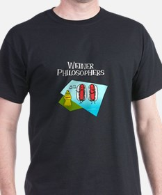 Weiner Philosophers... T-Shirt