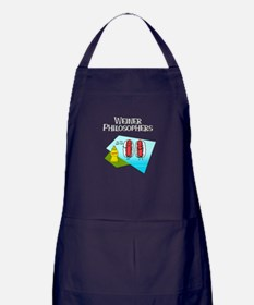 Weiner Philosophers... Apron (dark)