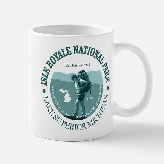 Isle Royale (rd) Mugs