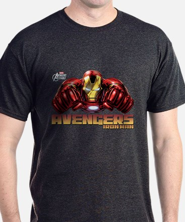 Iron Man Fists T-Shirt