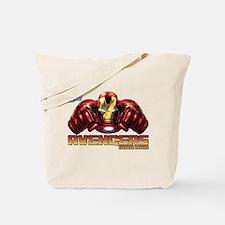 Iron Man Fists Tote Bag