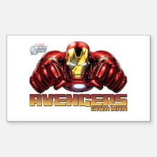 Iron Man Fists Decal