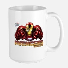 Iron Man Fists Large Mug