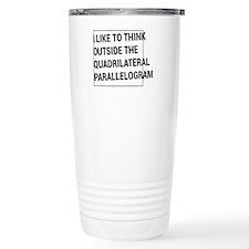 Quadrilateral parallelogram Travel Mug