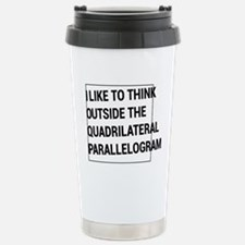 Quadrilateral parallelogram Travel Mug
