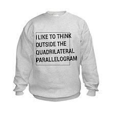 Quadrilateral parallelogram Sweatshirt