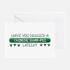 Hugged Shar-Pei Greeting Cards (Pk of 10)