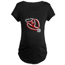 Stethoscope Heart Maternity T-Shirt