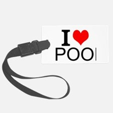 I Love Pool Luggage Tag