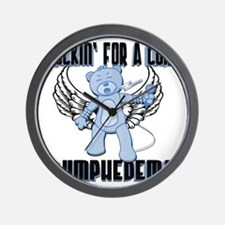 Lymphedema - Rockin' For A Cure Wall Clock