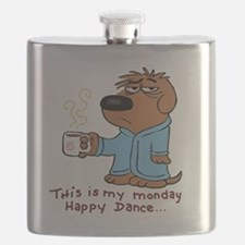 Funny Popular dance Flask