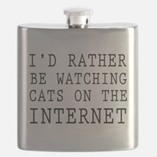 Rather be watching cats online Flask