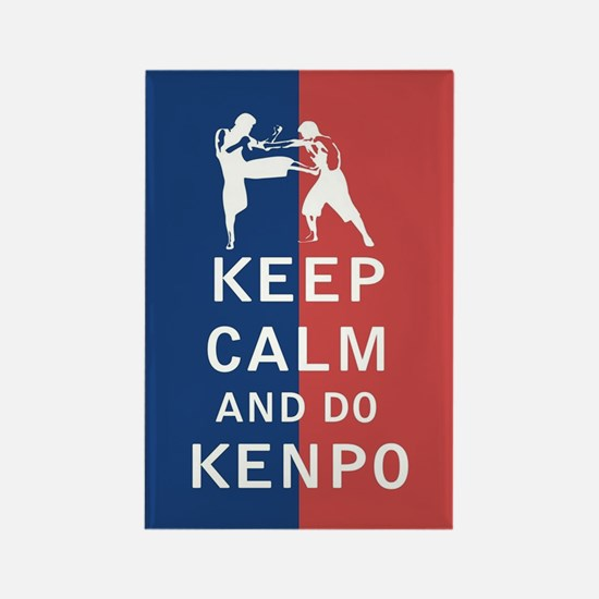 Keep Calm and Do Kenpo Magnets