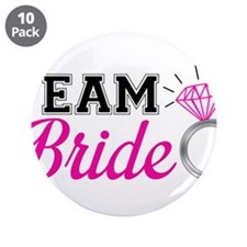 "Cute Bridal party 3.5"" Button (10 pack)"