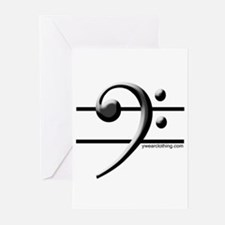 Bass Line Greeting Cards (Pk of 10)